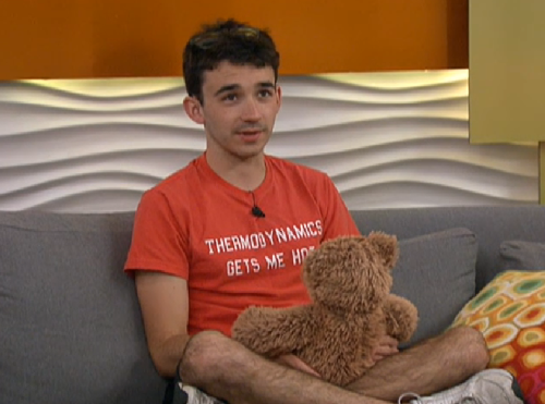 bigbrotherramblings:  Ian and his Teddy.