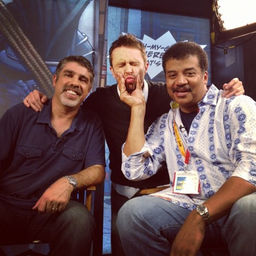 Lookit this faaaaaaaace!!! @neiltyson @robertabooey  (Taken with Instagram)
