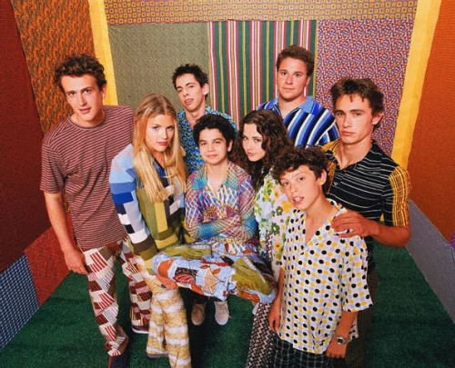 The cast of Freaks and Geeks, courtesy of the Contempo Casual sale rack, presumably.