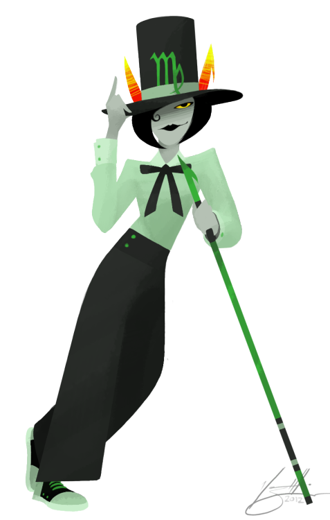 vondell-swain:  vondell-swain:  illustration commission - fancypants kanaya for taara r.  speaking of pants did you see this