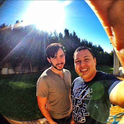 Gonna miss this legend!! #oldmate #hillsongcollege #olloclip (Taken with Instagram at Mexican Mansion)
