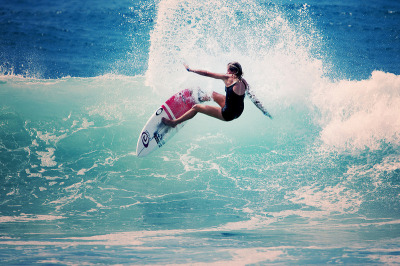 surf4living:  Pauline Ado, by: Roxy
