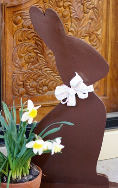(via Ucreate: Chocolate Bunny Template!)