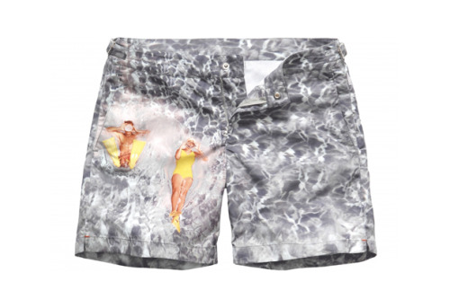 Orlebar Brown 5t Anniversary Splash Swim Shorts
