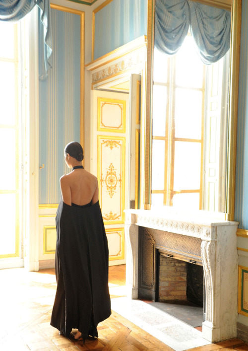 Givenchy Haute Couture F/W 2012 presentation at the Hôtel d'Evreux