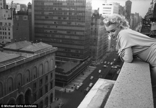 Marilyn, 1955, the Ambassador Hotel in New York City
