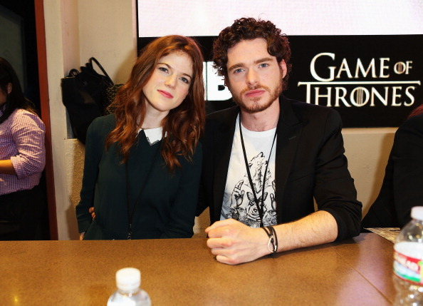 'Game of Thones' panel at Comic-Con International 2012 - Day 2 at San Diego Convention Center on July 13, 2012 in San Diego, California.
