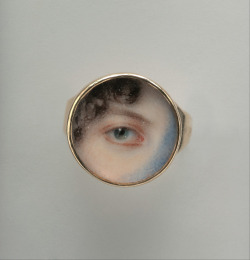 sisterwolf:  Edward Greene Malbone - Eye of Maria Miles Heyward, circa 1802.  The Metropolitan Museum of Art