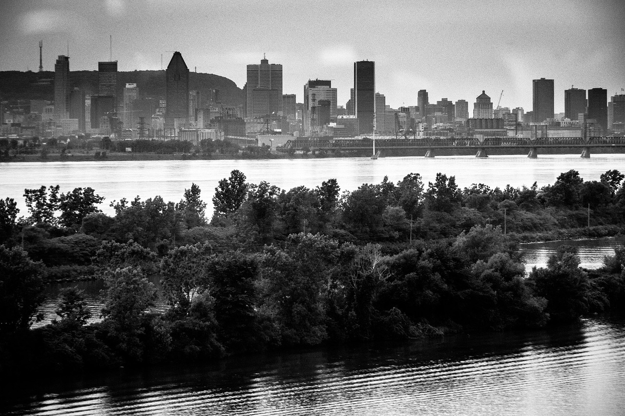 Montreal from the Champlain Bridge