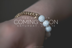THE VENETIAN bracelet will be available tomorrow afternoon! www.lavish-livez.com/blog/buy