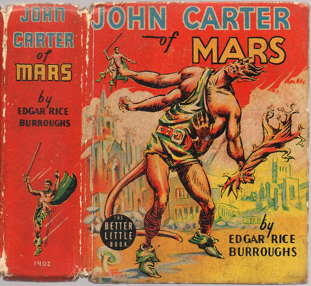 John Carter of Mars (1940) by Book Covers: Mars Science Fiction, Sexy Women Pulp on Flickr.