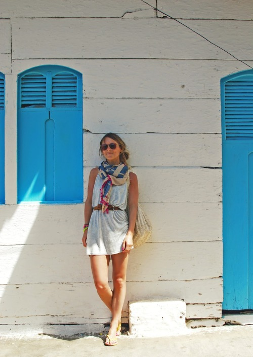 great summer outfit! lucy laucht
