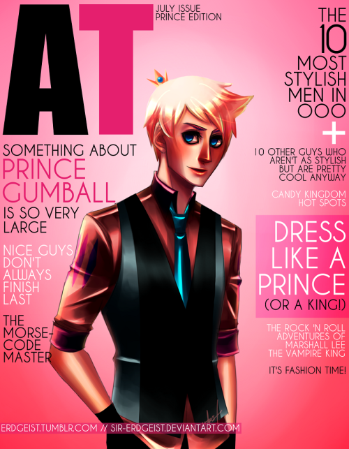 (via STARRING PRINCE GUMBALL by *Sir-Erdgeist on deviantART)