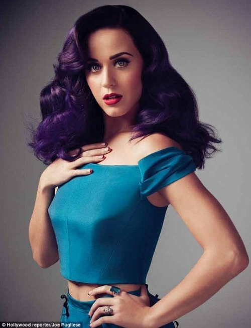Katy Perry's latest stunning pictorial for the Hollywood Reporter. She's gorgeous!