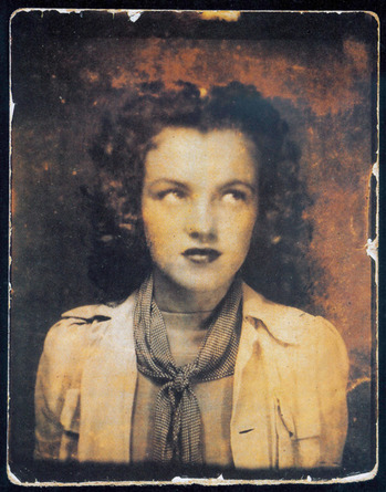 """Photo of 12 year old Marilyn Monroe"" - Norma Jean"