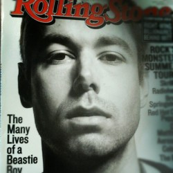antondann:  #adam #yauch #beastie #boys #RollingStone #RSfans #magazine #swag (Taken with Instagram)  I can't find a damn copy of this anywhere. they sold out so fast in my errr. hood. or whatever. No seriously, if anyone's got a spare copy I'll pay up.