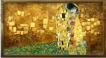 Google is celebrating Gustav klimt's 150th birthday! Who, btw, is one of my favorite artists. <3
