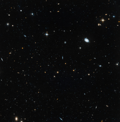 "ikenbot:  Ghost Galaxies' of Early Universe Seen by Hubble Telescope  The Hubble Space Telescope has captured images of three odd galaxies that may help scientists solve a 13 billion-year cosmic mystery.  The galaxies are so old and faint that astronomers nicknamed them ""ghost galaxies"" in a description. The objects are among the smallest and faintest galaxies near our own Milky Way galaxy, researchers said.  ""These galaxies are fossils of the early universe: they have barely changed for 13 billion years,"" scientists explained in a July 10 announcement. ""The discovery could help explain the so-called 'missing satellite' problem, where only a handful of satellite galaxies have been found around the Milky Way, against the thousands that are predicted by theories.""  The three galaxies observed by the Hubble telescope are known as Hercules, Leo IV and Ursa Major. All three objects are small dwarf galaxies that appear to have begun forming about 13 billion years ago and then — for an unknown reason — their growth hit a cosmic wall.  Since the universe is estimated to be about 13.7 billion years old, the galaxies were born sometime within the first billion years of the cosmos."