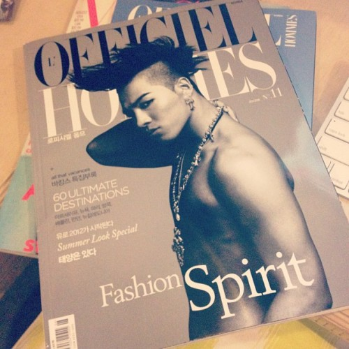 YB L'OFFICIEL HOMMES #fashion #bigbang #taeyang #magazine #style  (Taken with Instagram)
