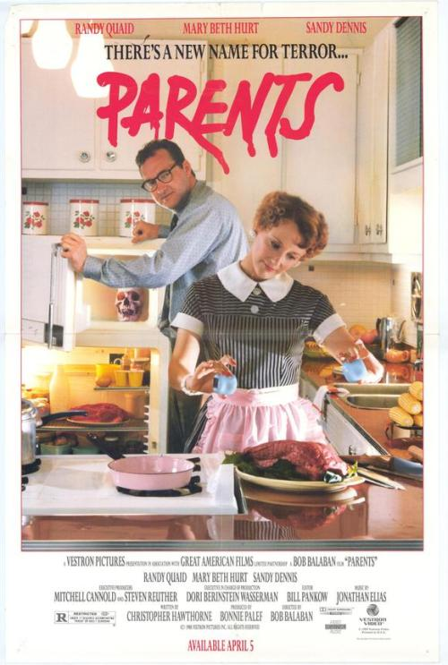 watched this 80s movie today about cannibalistic parents, preeeetty good.