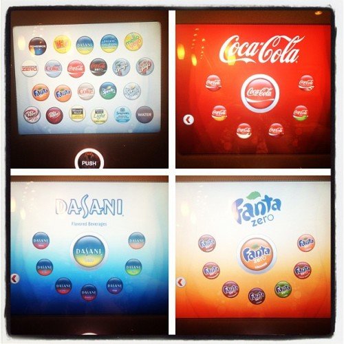Coolest fountain soda machine ever.  (Taken with Instagram)