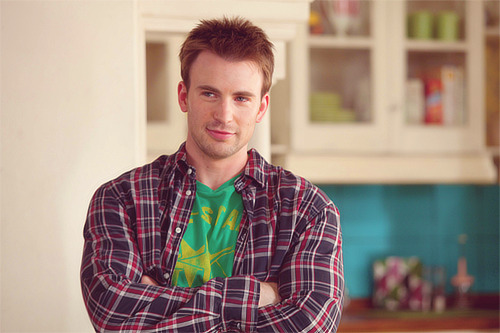 64 of 100 photos of chris evans