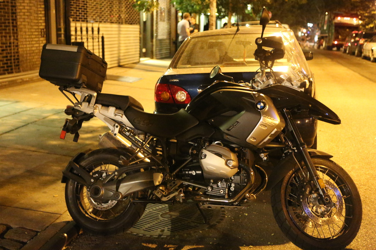 I really really really want this bike. Is that enough really's? Its a BMW R 1200 GS. This bike will go anywhere you point it dirt or tar and with a full tank of gas it will go halfway to Florida from NY. If the BMW gods send me one I will blog the hell out of this bike but until then I will save my pennies.