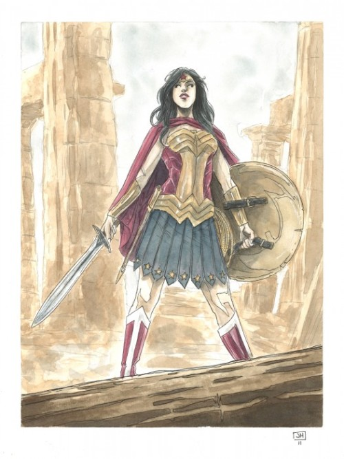 Wonder Woman by Jeremy Haun