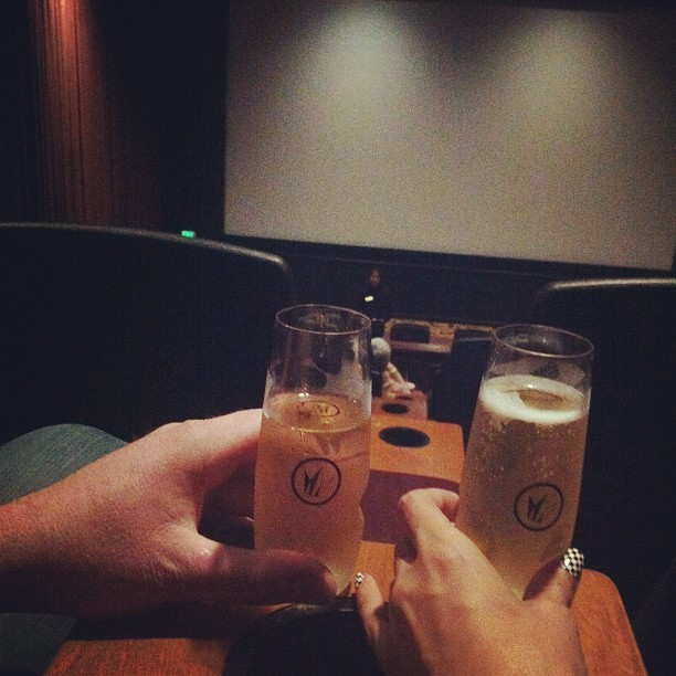 We fancy. My kinda theater 👍 @bamfbamfbamf  (Taken with Instagram at Island Cinema)