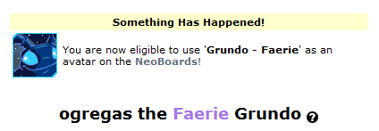 visit the lookup of a faerie grundo