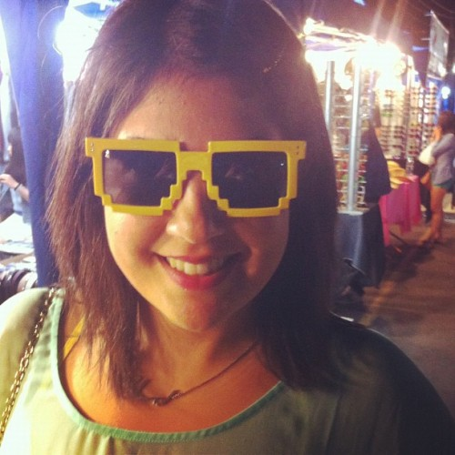 Geeky glasses at the Richmond Night Market  (Taken with Instagram)