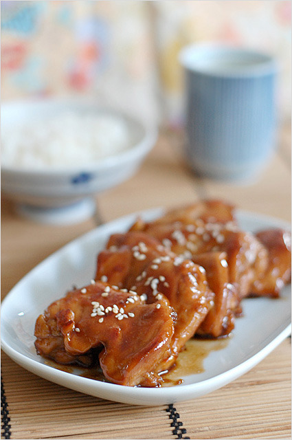 skinnyfoodielife:  Teriyaki chicken