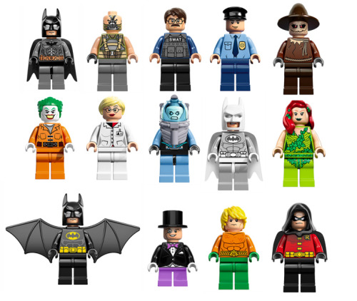 Lego Superheroes DC universe minifigures 2013 (by *The Commander*)