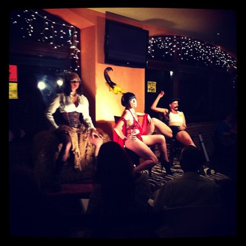 #gallerygirls are tearing it up @tricksterevents (Taken with Instagram)