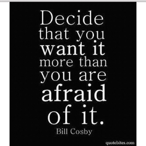 dulani06:  Decide that you want it. #courage #motivation #inspiration #goals #dreams (Taken with Instagram)  Really think I need this right here.