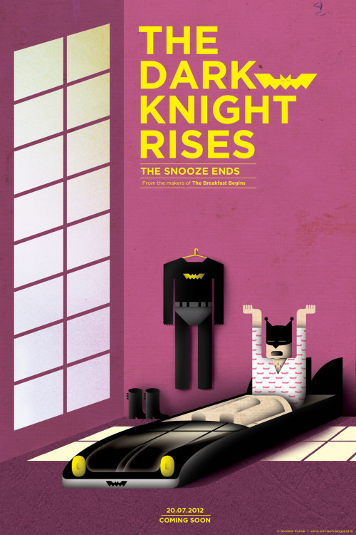 minimalmovieposters:  The Dark Knight Rises by Somesh Kumar