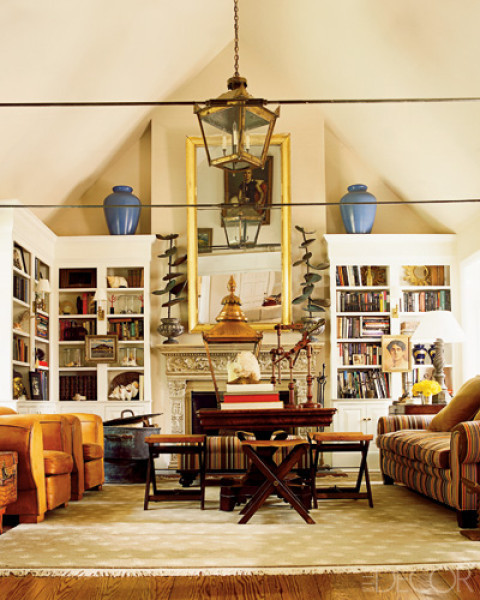 1930s style for this eclectic family room