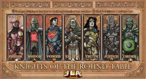 If the Justice League were Medieval!!!