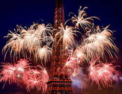 somewhereintheworldtoday:  Storm the Bastille! Vive la France! Bastille day is France's national holiday to commemorate the storming of the Bastille. The Bastille was a prison that the French monarchy used to lock up anyone who did not agree with them. On July 14, 1789, a large number of French citizens gathered together to attack the prison and this was the start of the French Revolution. More on Bastille Day by Somewhere in the world today… Original tumblr post by kevinpriest:  Bonne fête de la Bastille !