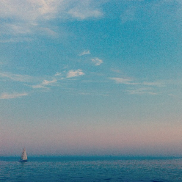 #toronto #lake #boat  (Taken with Instagram)