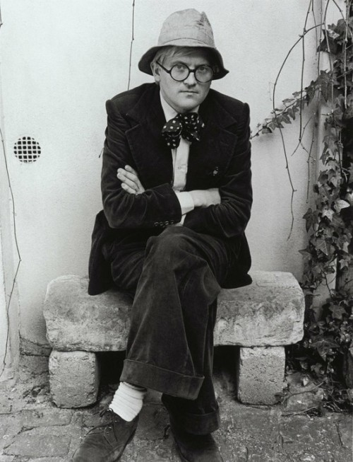 iconoclassic:  David Hockney (via Laura Ottina / Pinterest)