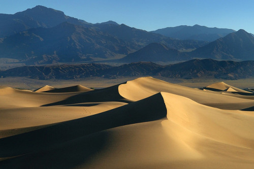 Stovepipe Wells Dunes by janet little on Flickr.