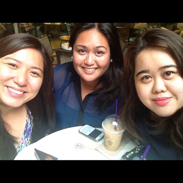 Missed you girls! 😊 (Taken with Instagram at The Coffee Bean & Tea Leaf)