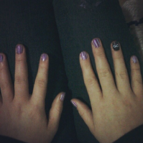 Nail time with @sam_learmont  (Taken with Instagram)
