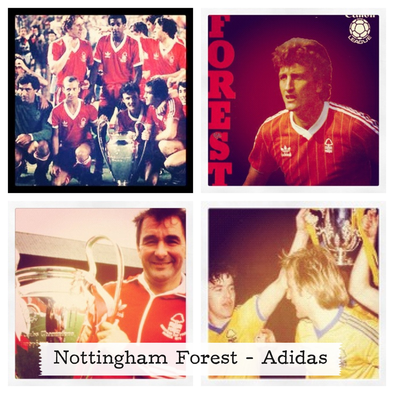 Nottingham Forest, Adidas, 1978-1986