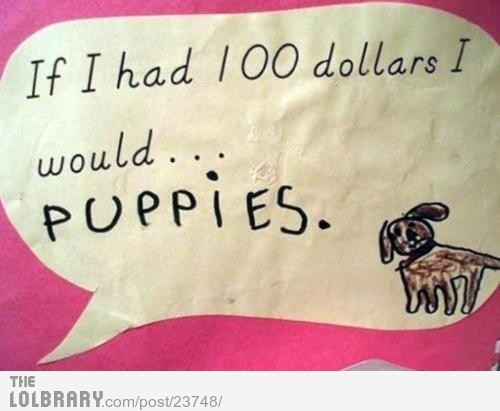 If I Had $100…Follow this blog for the best new funny pictures every day