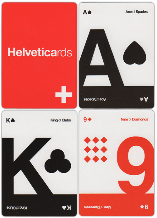 Bought this pack of cards online last night..Helveticards!!Excited for their arrival and lots of riveting games of P+A's and Speed with the family :)