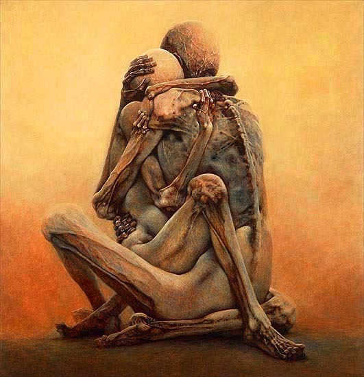 intranaut:  Untitled piece by Zdzisław Beksiński (1984)
