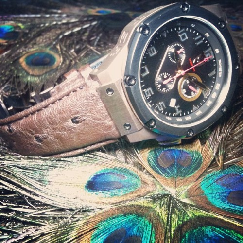 #mstr #meister #watches #ambassador #singapore #hideandseeksg #sg #igsg #instagram #statigram #jj #jj_forum #brunei #brunika #cool #watchnerd #timepiece #iphonesia #iphone4s #ostrich #leather  (Taken with Instagram at Hide & Seek)