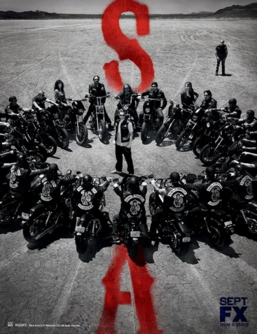 (via [PHOTO] Sons of Anarchy Poster — Season 5 Key Art - TVLine)